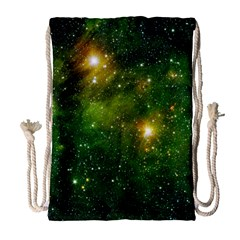 Hydrocarbons In Space Drawstring Bag (large) by trendistuff