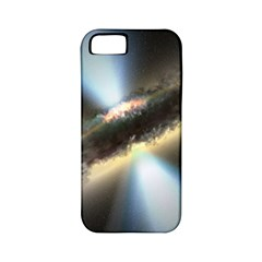 Hidden Black Hole Apple Iphone 5 Classic Hardshell Case (pc+silicone) by trendistuff