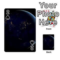 Global Night Playing Cards 54 Designs