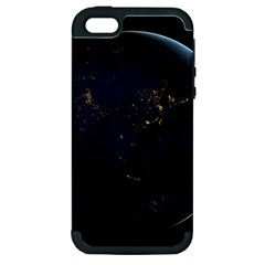 Global Night Apple Iphone 5 Hardshell Case (pc+silicone) by trendistuff