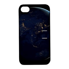 Global Night Apple Iphone 4/4s Hardshell Case With Stand by trendistuff