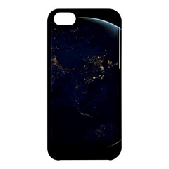 Global Night Apple Iphone 5c Hardshell Case by trendistuff