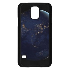 Global Night Samsung Galaxy S5 Case (black) by trendistuff