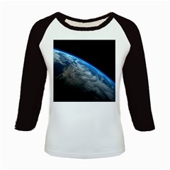 Earth Orbit Kids Baseball Jerseys by trendistuff