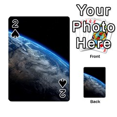 Earth Orbit Playing Cards 54 Designs