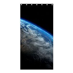 Earth Orbit Shower Curtain 36  X 72  (stall)  by trendistuff
