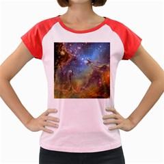 EAGLE NEBULA Women s Cap Sleeve T-Shirt by trendistuff