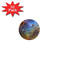 Eagle Nebula 1  Mini Magnet (10 Pack)  by trendistuff