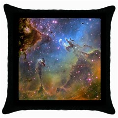 Eagle Nebula Throw Pillow Cases (black) by trendistuff