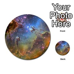 Eagle Nebula Multi Purpose Cards (round)