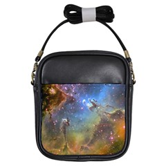 Eagle Nebula Girls Sling Bags by trendistuff