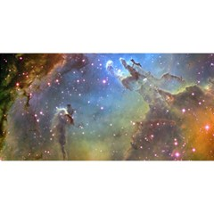 Eagle Nebula You Are Invited 3d Greeting Card (8x4)  by trendistuff