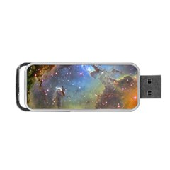 Eagle Nebula Portable Usb Flash (one Side) by trendistuff