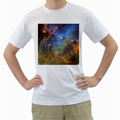 Eagle Nebula Men s T Shirt (white)  by trendistuff