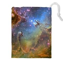 Eagle Nebula Drawstring Pouches (xxl)