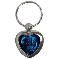 Cygnus Loop Key Chains (heart)  by trendistuff