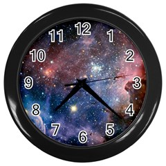 Carina Nebula Wall Clocks (black) by trendistuff