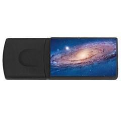 Andromeda Usb Flash Drive Rectangular (4 Gb)  by trendistuff