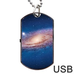 Andromeda Dog Tag Usb Flash (two Sides)  by trendistuff