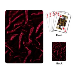 Luxury Claret Design Playing Card by Costasonlineshop