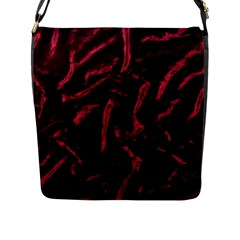 Luxury Claret Design Flap Messenger Bag (l)  by Costasonlineshop