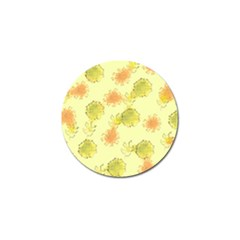 Shabby Floral 1 Golf Ball Marker (10 Pack) by MoreColorsinLife