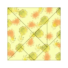 Shabby Floral 1 Acrylic Tangram Puzzle (6  X 6 ) by MoreColorsinLife