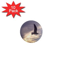 Seagull 1 1  Mini Magnet (10 Pack)  by Jamboo