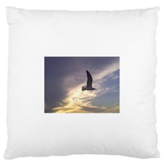 Seagull 1 Standard Flano Cushion Cases (one Side)  by Jamboo