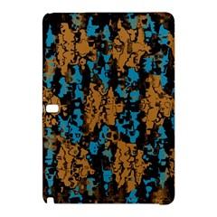 Blue Brown Texturesamsung Galaxy Tab Pro 10 1 Hardshell Case by LalyLauraFLM