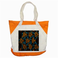 Blue Brown Textureaccent Tote Bag by LalyLauraFLM