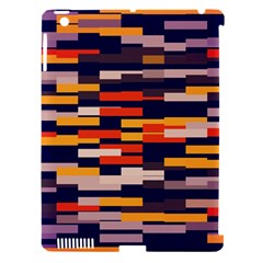 Rectangles In Retro Colors			apple Ipad 3/4 Hardshell Case (compatible With Smart Cover) by LalyLauraFLM