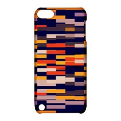 Rectangles In Retro Colors			apple Ipod Touch 5 Hardshell Case With Stand by LalyLauraFLM
