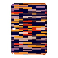 Rectangles In Retro Colors			samsung Galaxy Tab Pro 10 1 Hardshell Case by LalyLauraFLM