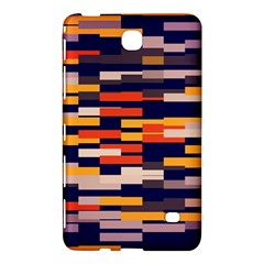 Rectangles In Retro Colorssamsung Galaxy Tab 4 (7 ) Hardshell Case by LalyLauraFLM