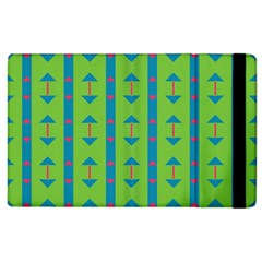 Arrows And Stripes Pattern			apple Ipad 2 Flip Case by LalyLauraFLM