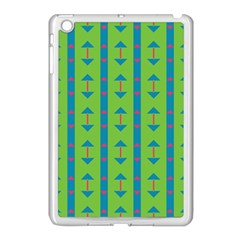 Arrows And Stripes Pattern			apple Ipad Mini Case (white) by LalyLauraFLM