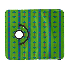 Arrows And Stripes Pattern			samsung Galaxy S Iii Flip 360 Case by LalyLauraFLM