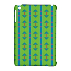Arrows And Stripes Patternapple Ipad Mini Hardshell Case (compatible With Smart Cover) by LalyLauraFLM