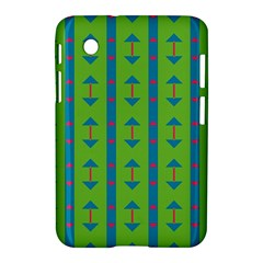 Arrows And Stripes Pattern			samsung Galaxy Tab 2 (7 ) P3100 Hardshell Case by LalyLauraFLM