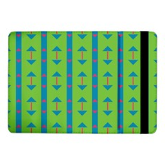 Arrows And Stripes Pattern			samsung Galaxy Tab Pro 10 1  Flip Case by LalyLauraFLM