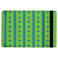 Arrows And Stripes Pattern			apple Ipad Air Flip Case by LalyLauraFLM