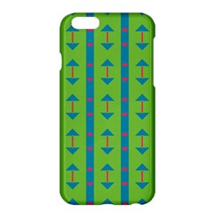 Arrows And Stripes Patternapple Iphone 6 Plus/6s Plus Hardshell Case by LalyLauraFLM
