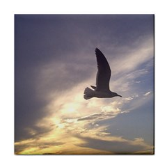 Fly Seagull Tile Coasters by Jamboo