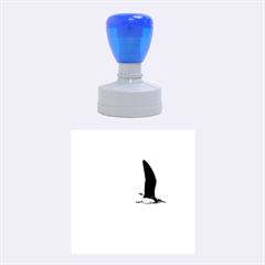 Fly Seagull Rubber Round Stamps (medium)