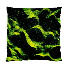 Green Northern Lights Standard Cushion Cases (two Sides)  by Costasonlineshop