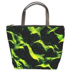 Green Northern Lights Bucket Bags