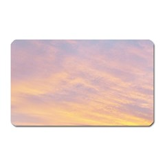 Yellow Blue Pastel Sky Magnet (rectangular)