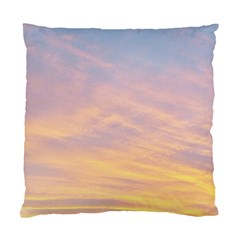 Yellow Blue Pastel Sky Standard Cushion Cases (two Sides)