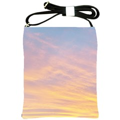Yellow Blue Pastel Sky Shoulder Sling Bags